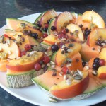 Saturday Breakfast – Melon Pizza