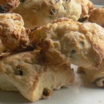 Guest Peachick Post: Coconut and Lime Birthday Scones!