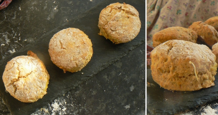 Wholewheat Vegan Cheese scones