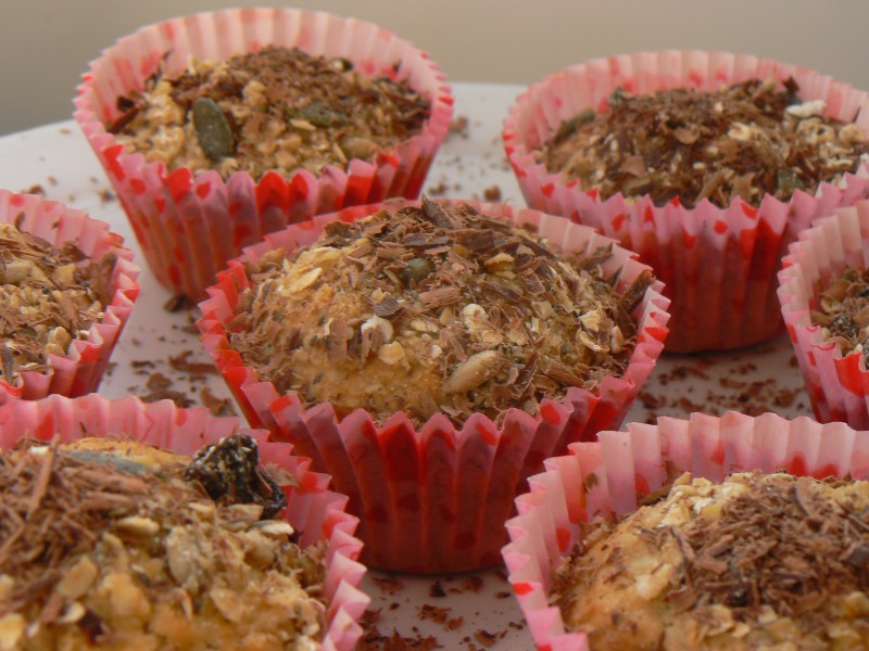 Dairy Free & Egg Free Museli Muffins
