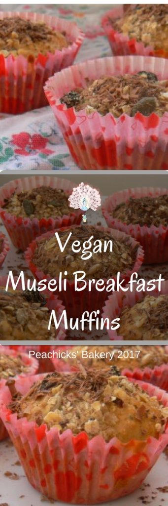 Vegan Museli Muffins - Perfect Grab & Go Breakfast!