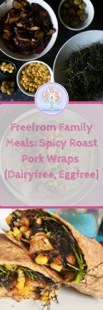 Freefrom Family Meals: Spicy Roast Pork Wraps - Loving your Leftovers!