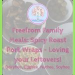 Freefrom Family Meals: Spicy Roast Pork Wraps – Loving your Leftovers!