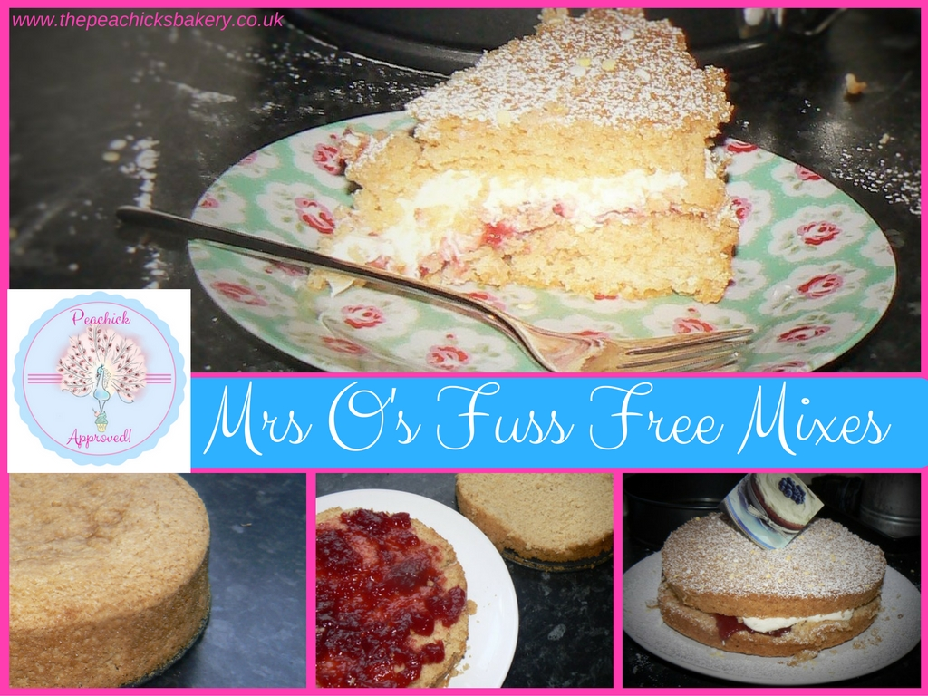 Mrs O's Fuss Free Mixes Review
