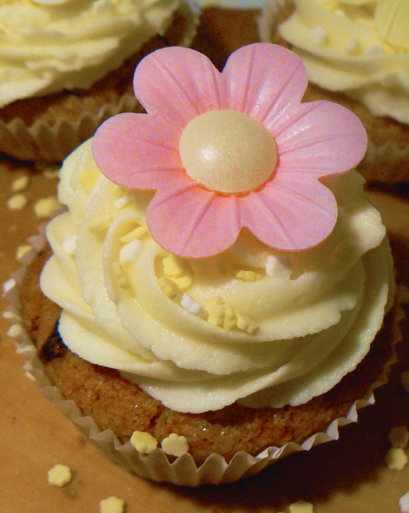 Vegan Carrot Cake with Cream Cheese Icing (also freefrom Gluten, Nuts & Soya)