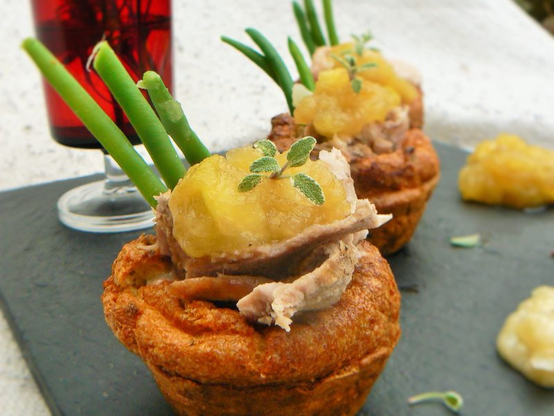 Sage & Onion Yorkshire Puddings (Dairy free)
