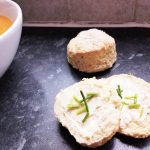 Vegan Cheese & Chive Scones (Dairyfree, Soyfree)