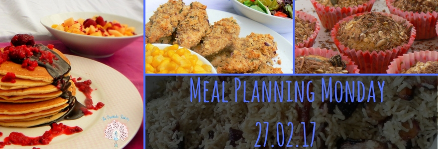 Meal Planning Monday - Pancakes, Chicken & Muffins!