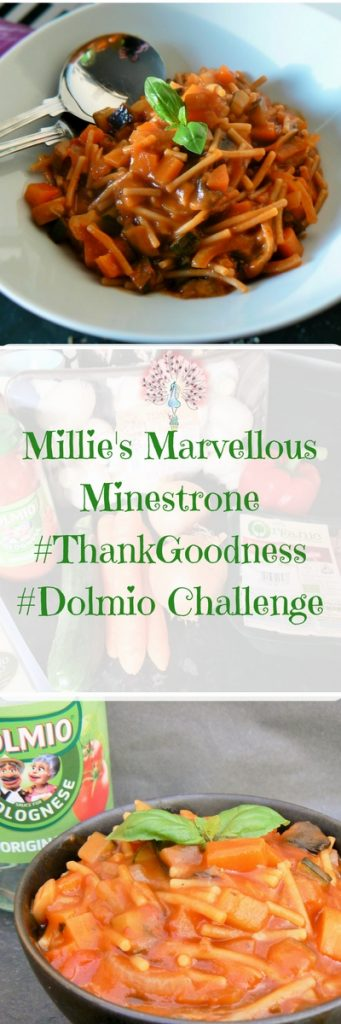 Need a speedy midweek meal, full of veg that the little people will love? Look no further - I give you Millie's Marvellous Minestrone with Parmesan Crusted Aubergine & Courgette Sticks! Vegan & Glutenfree!