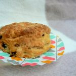 May is the month of the #FreefromPicnics challenge and for my contribution I give you these Vegan Red Onion & Chilli Cheese Scones. Lovely soft, fluffy scones with a delicate cheese flavour and a gentle warmth from the chilli flakes! (Dairyfree, Eggfree, Soyfree and suitable for Vegetarians)