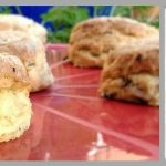 Vegan Red Onion & Chilli Cheese Scones #FreeFromPicnics