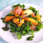 Roasted Squash, Kale & Grapefruit Salad #InternationalVegetarianWeek