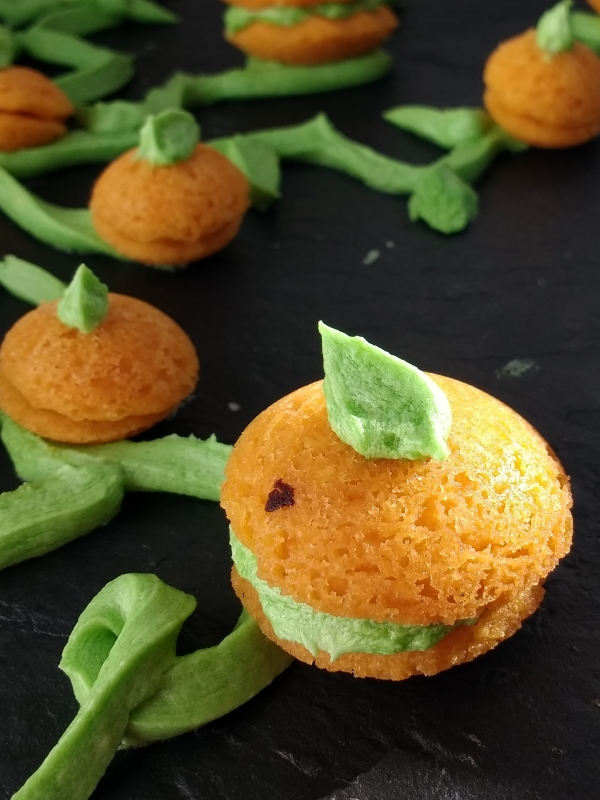 Make your very own pumpkin patch with these Pumpkin Spice Halloween Cookies! Made from Glutenfree & Vegan Viennese Whirl dough for#FreeFromHalloween