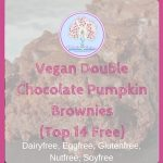 Vegan Double Chocolate Pumpkin Brownies (Top14 Free)