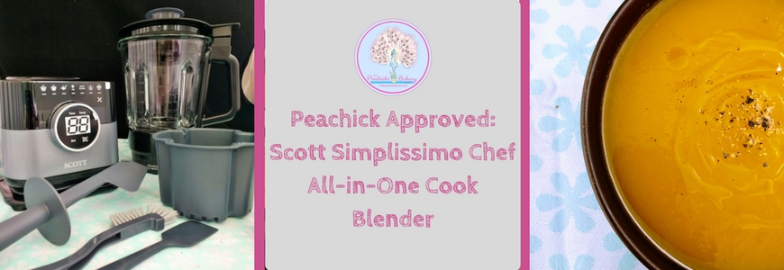 Peachick Approved: Simplissimo Chef All-in-One Cook Blender Review