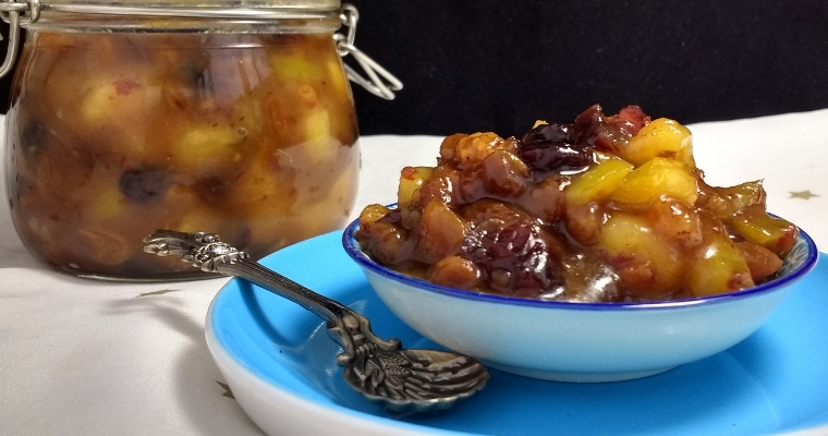 Quick Vegan Mincemeat with Whisky & Ginger (Citrus & Nut Free)