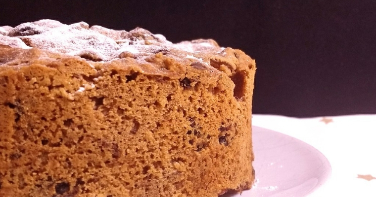 Whisky & Ginger Glutenfree Christmas Cake (Dairyfree Eggfree Vegan)