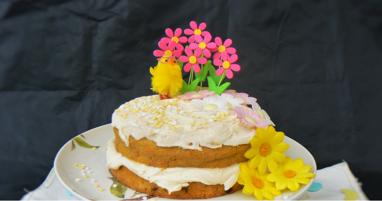 #FreeFromEaster: Easy Decorated Easter Cake (DF EF GF Ve)