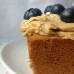 Glutenfree Vegan Coffee & Blueberry Loaf (Dairyfree, Eggfree)
