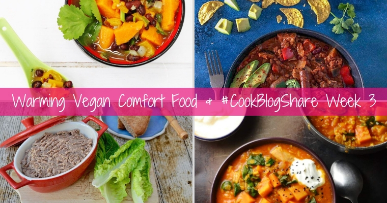 #CookBlogShare Week 3 – Vegan Comfort Food for Veganuary