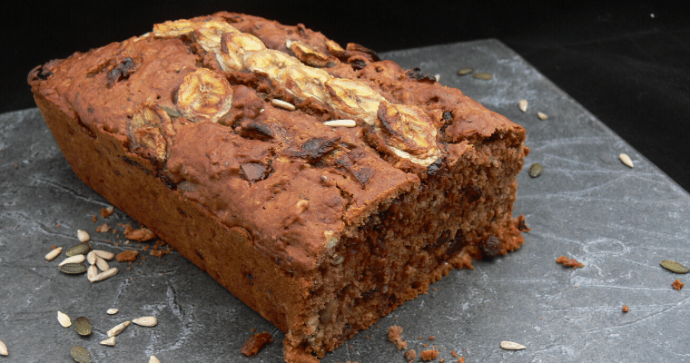 Vegan Chocolate Banana Bread (Dairy Free, Gluten Free & Vegan)