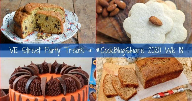 Easy VE Day Street Party Treats & #CookBlogShare 2020 wk18