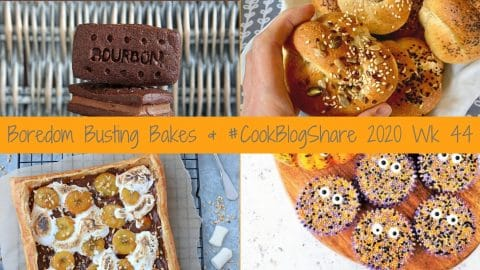 5 Brilliant Boredom Busting Bakes perfect for Lockdown & Lazy Autumn Afternoons! Plus #CookBlogShare 2020 wk 44