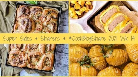 Simple Sides & Super Sharers from the amazing CookBlogShare bloggers, plus the linky for week 14.
